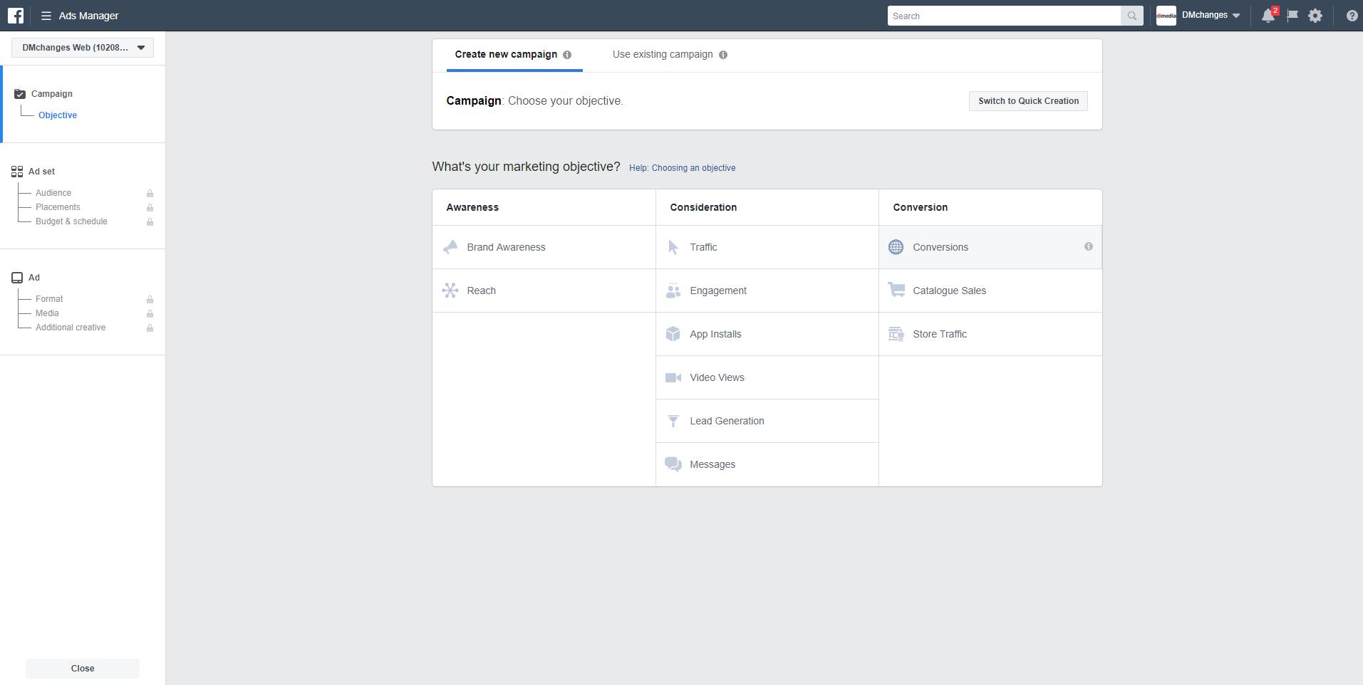Facebook Ads Manager, alat za kreiranje Facebook i Instagram oglasa