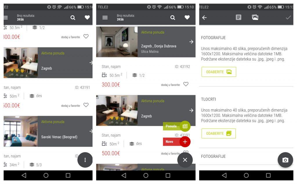 Dimedia-nekretnine PRO unos nekretnine