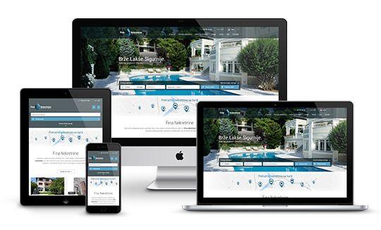 Web stranice za agencije za nekretnine